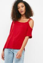dailyfriday - One shoulder tee