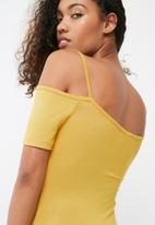 dailyfriday - Off the shoulder bodysuit