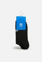adidas Originals - Trefoil liner 3pack socks