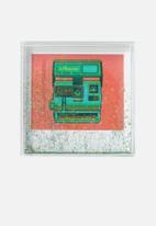 Polaroid - Glitter 4x4 frame