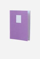 Polaroid - Lined jotter notebook large