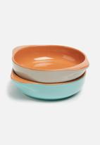 Jamie Oliver - Alforno terracotta bowls set of 2