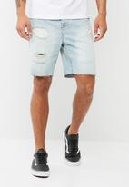 basicthread - Regular fit denim shorts
