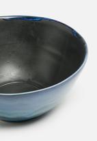 Urchin Art - Azure salad bowl