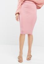 Missguided - Jersey midi skirt