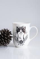 Sugar & Vice - Bohemian cat mug