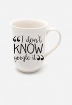 Sugar & Vice - Google it mug