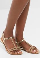 dailyfriday - Gold sandal