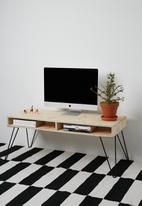 Sixth Floor - Hairpin tv stand