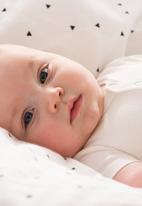 Cotton On - Baby mini henley style bubbysuit