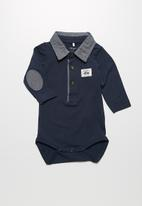 name it - Geo polo babygrow