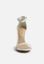 ALDO - Ankle strap sandal - white