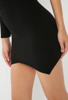 Missguided - One shoulder bodycon dress