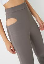 Missguided - Active cut out leggings