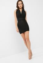 Missguided - Multiway slinky dress