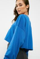 Missguided - Palm spring crew neck cropped sweatshirt