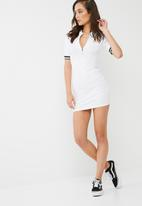 Missguided - Rib short sleeve bodycon dress