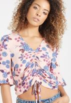 Cotton On - Maddie rouched tie front top