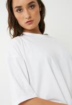 Missguided - Knot front long back tunic top