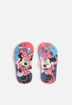 Character Fashion - Minnie Mouse flip flops