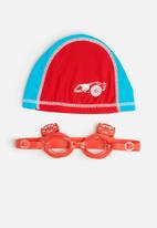 Character Fashion - CARS swimming goggles and cap