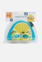 Character Fashion - Despicable Me swimming goggles and cap