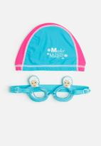 Character Fashion - Frozen swimming goggles and cap
