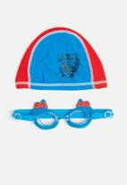 Character Fashion - Spider-Man swimming goggles and cap