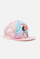 Character Fashion - Minnie Mouse trucker cap