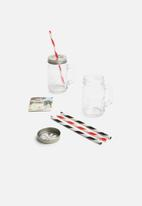 Kilner - Mug & straw set