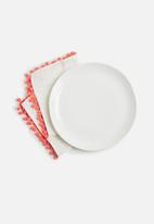 Sixth Floor - Pom pom napkin set of 2