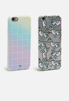 Sixth Floor - Rainbows & unicorns set - iPhone & Samsung cover
