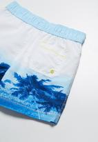 MINOTI - Tree print swimshorts