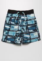 MINOTI - Photo print swimshorts
