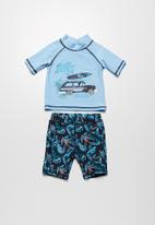 MINOTI - Van shorts and rash vest set