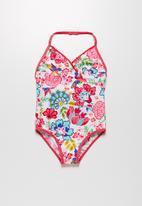 MINOTI - Aqua flower swimsuit