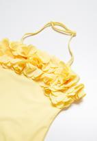 MINOTI - Halter neck floral swimsuit