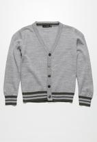 basicthread - Tipped classic cardigan