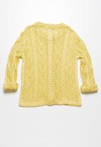 dailyfriday - Pointelle summer cardigan