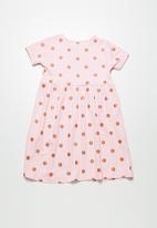 dailyfriday - Polka dot t-shirt dress