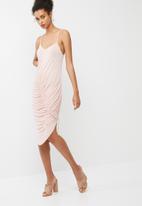 dailyfriday - Slinky drawstring dress