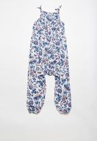 dailyfriday - Shoulder tie jumpsuit