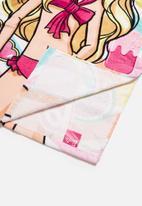 Character Fashion - BARBIE hooded towel