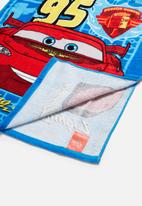 Character Fashion - CARS hooded towel