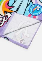 Character Fashion - My Little Pony hooded towel