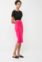 dailyfriday - Midi pencil skirt 2 pack