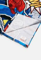 Character Fashion - Spider-Man hooded towel