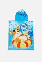 Character Fashion - Paw Patrol hooded towel