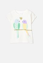 Cotton On - Kids penelope roll up tee