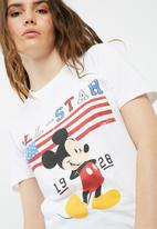 Missguided - All star mickey mouse t-shirt